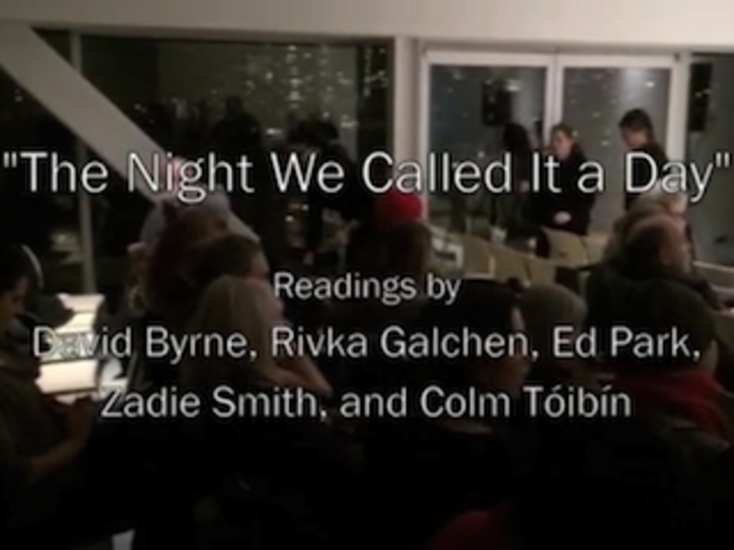 "Bookforum's ""The Night We Called It a Day"""