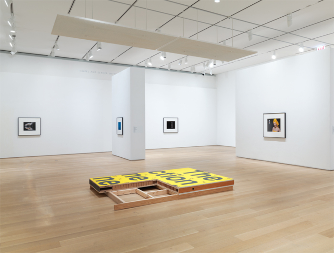 "View of ""Christopher Williams: The Production Line of Happiness,"" 2014, Art Institute of Chicago."