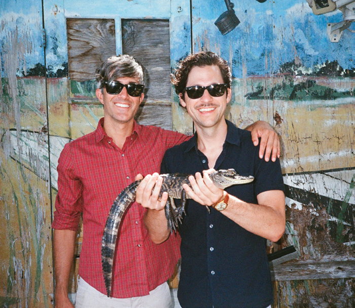 *We Are Scientists.* Keith Murray and Chris Cain, Miami, 2013. Photo: Dan Monick.