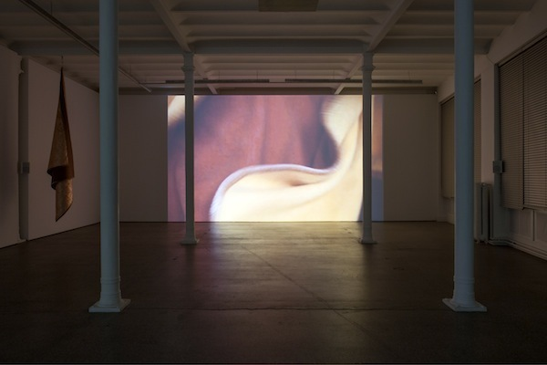 "View of ""Edith Dekyndt: Chronology of Tears,"" 2014."