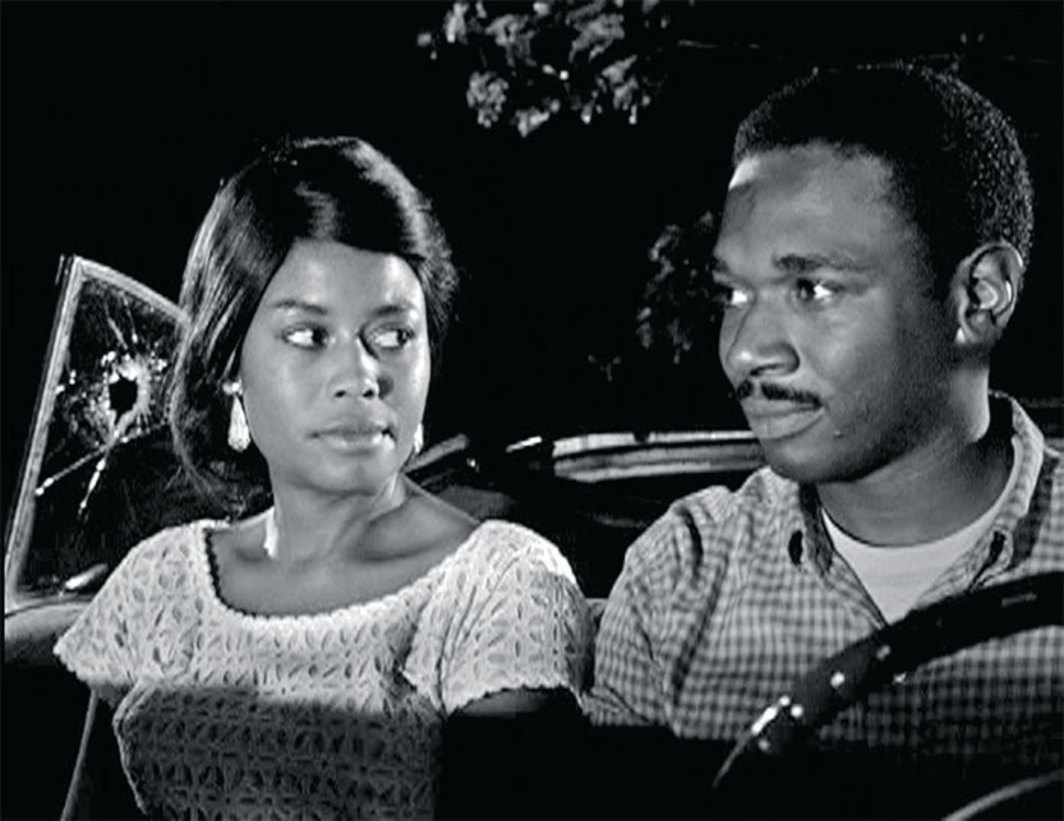 Michael Roemer, Nothing but a Man, 1964, 35 mm, black-and-white, sound, 95 minutes. Josie (Abbey Lincoln) and Duff Anderson (Ivan Dixon).