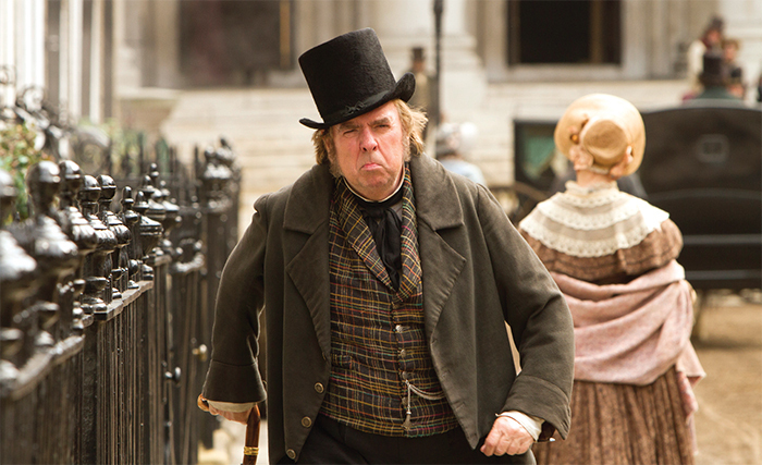 Mike Leigh, Mr. Turner, 2014, digital video, color, sound, 149 minutes. J. M. W. Turner (Timothy Spall).