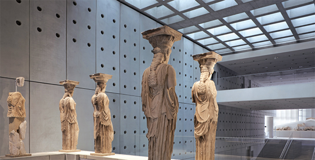 Bernard Tschumi Architects, Acropolis Museum, 2009, Athens. Photo: Peter Mauss/Esto.