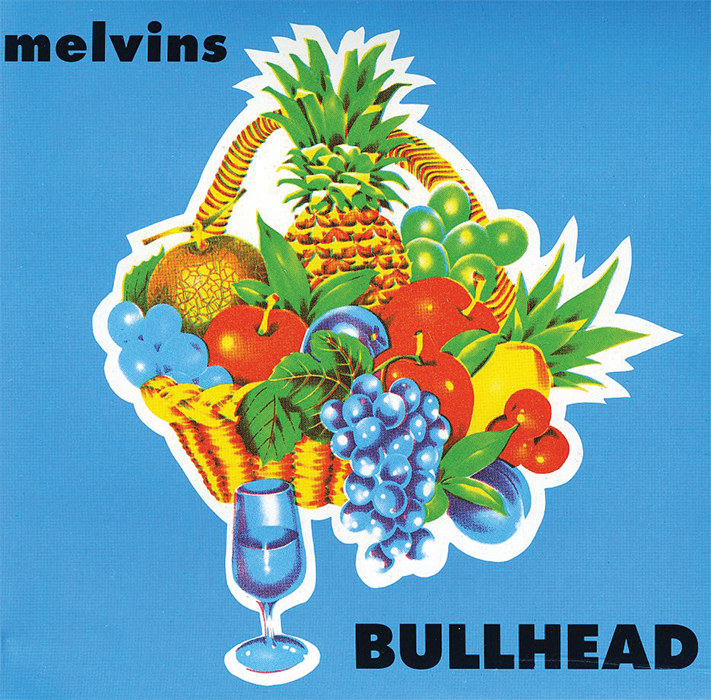 *Cover of Melvins' _Bullhead_* (Boner Records, 1991).
