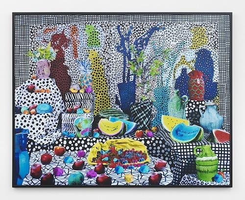 "Daniel Gordon, Summer Fruit, 2014, chromogenic print, 60 x 70""."