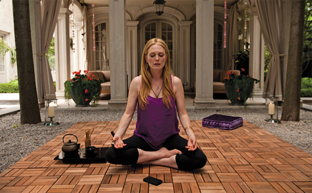 David Cronenberg, Maps to the Stars, 2014, digital video, color, sound, 111 minutes. Havana Segrand (Julianne Moore).