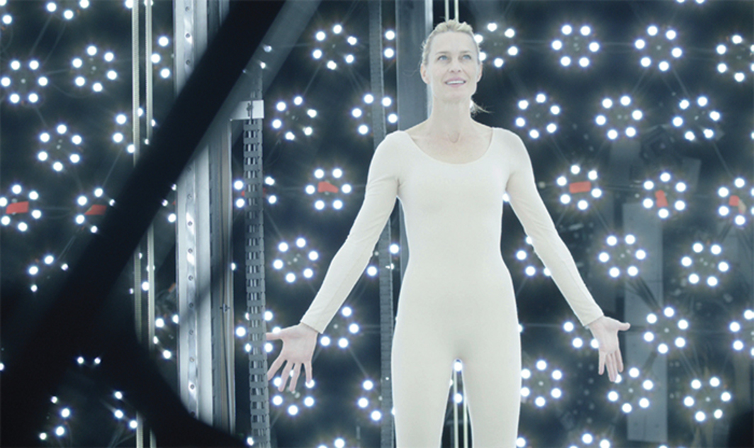 Ari Folman, The Congress, 2013, digital video, black-and-white and color, sound, 117 minutes. Robin Wright (Robin Wright).