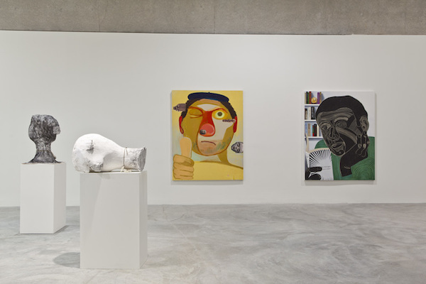 "View of ""Dear Nemesis, Nicole Eisenman 1993–2013,"" 2014–15."