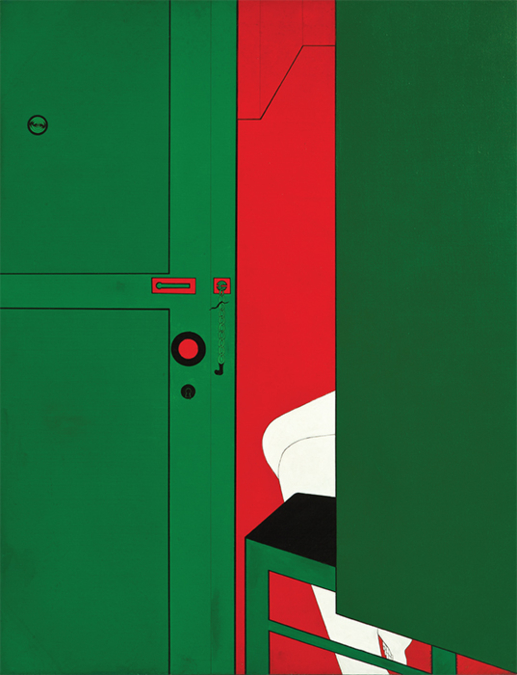 "Wanda Pimentel, Untitled—Série Envolvimento, 1967, acrylic on canvas, 45 3/4 × 35 1/8"". From ""International
