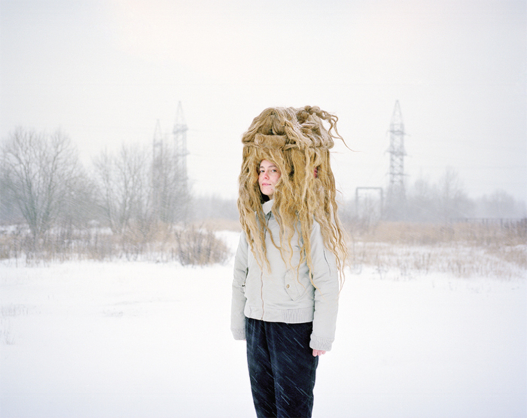 "Flo Kasearu, Väljakasvanud (Grown Out), 2013, C-print, 29 1/2 × 37 1/2"". From the series ""Väljakasvanud"" (Grown Out), 2013."
