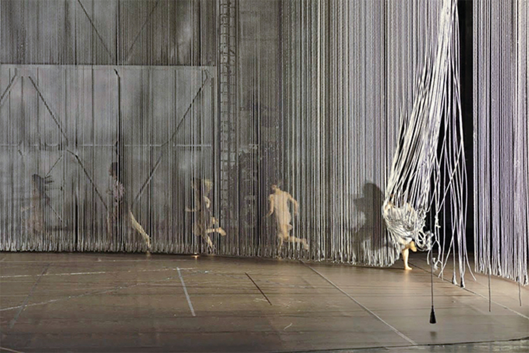 *Anne Teresa De Keersmaeker, _Rain_, 2001.* Performance view, Opera Garnier, Paris, October 2014. Photo: Benoite Fanton.