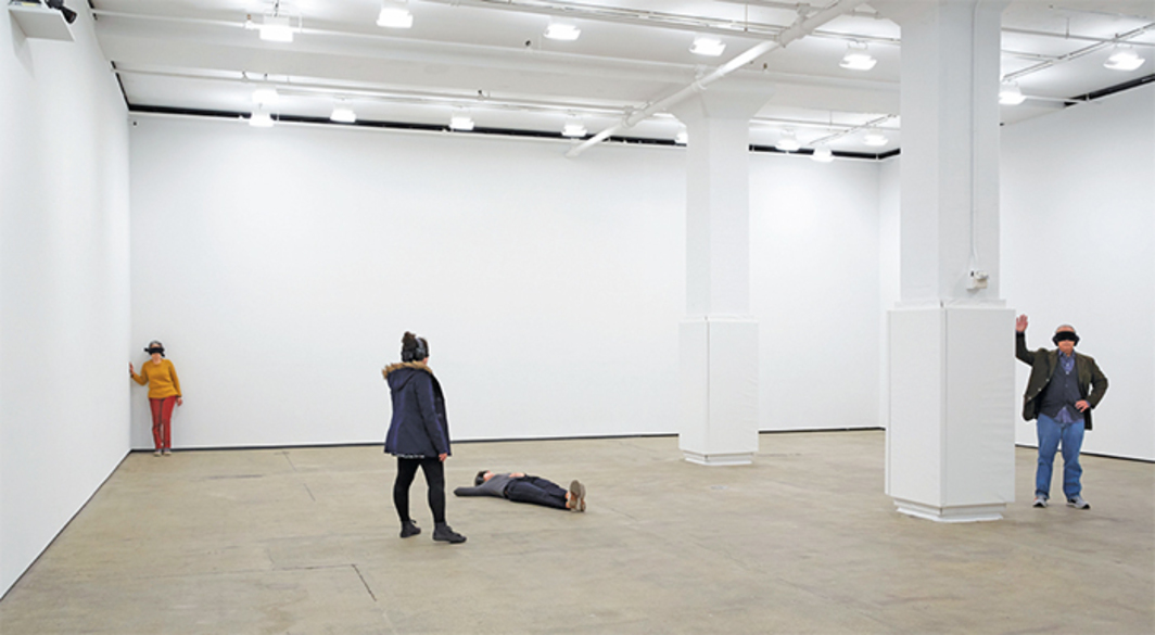 "View of ""Marina Abramović,"" 2014."