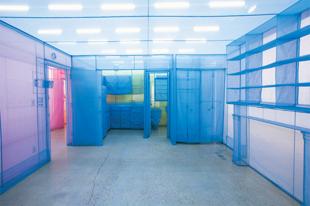 "View of ""Do Ho Suh,"" 2014."
