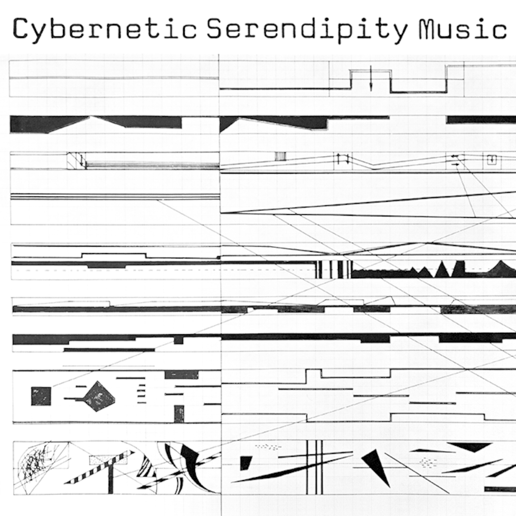 Cover of Cybernetic Serendipity Music (The Vinyl Factory/ICA, 2014).
