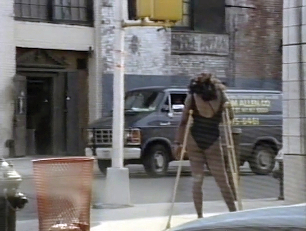 Michel Auder, Chelsea, Manhattan–NYC, 1990 (edited 2008), Hi8 video transferred to digital video, color, sound, 6 minutes 21 seconds.