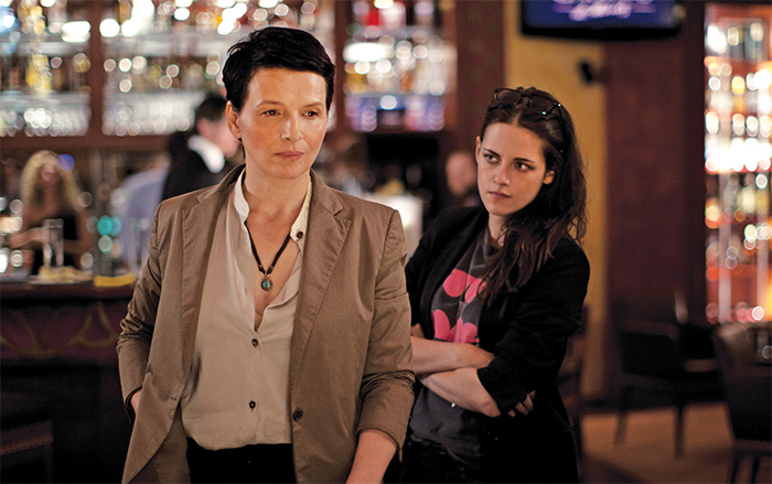 Olivier Assayas, Clouds of Sils Maria, 2014, 35 mm, color, sound, 123 minutes. Maria Enders (Juliette Binoche) and Valentine (Kristen Stewart).