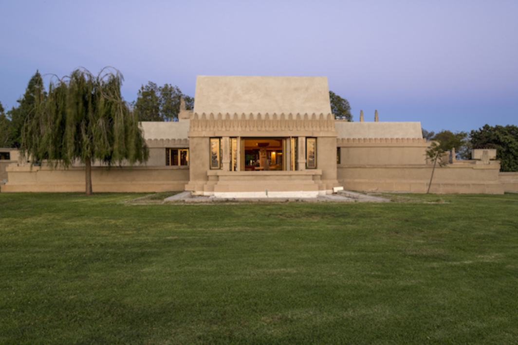 Frank Lloyd Wright, Hollyhock House, 1921, Los Angeles. Photo: Joshua White.