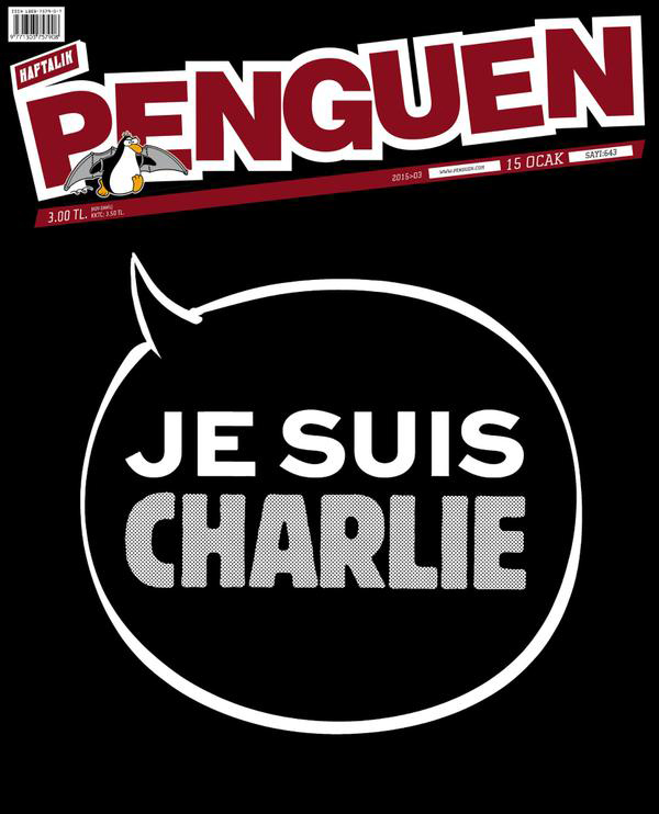 Cover of Penguen, January 2015.