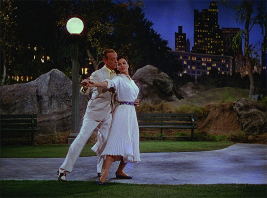Vincente Minnelli, The Band Wagon, 1953, 35 mm, color, sound, 112 minutes. Tony Hunter and Gabrielle Gerard (Fred Astaire and Cyd Charisse).