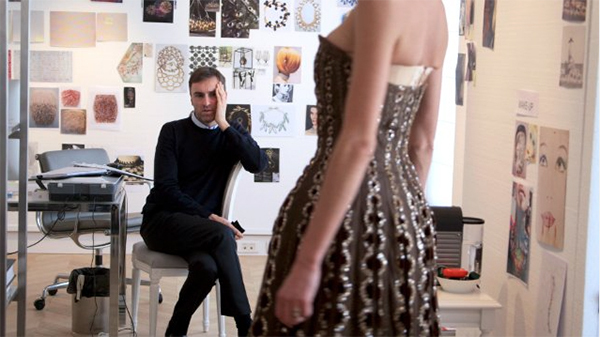 Frédéric Tcheng, Dior and I, 2014, HD video, color, sound, 90 minutes. Raf Simons.
