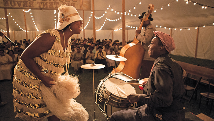 Dee Rees, Bessie, 2015, HD video, color, sound, 112 minutes. Bessie Smith (Queen Latifah). Photo: Frank Masi/HBO.