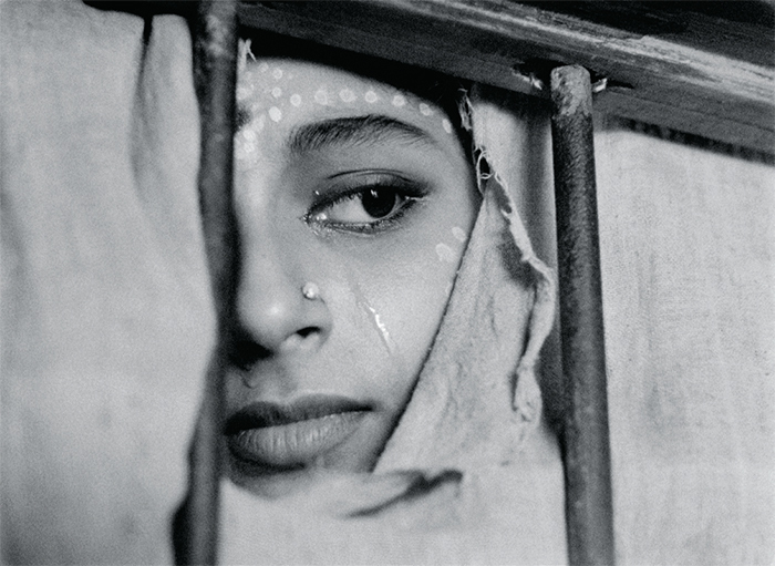 Satyajit Ray, Apur Sansar (The World of Apu), 1959, 35 mm, black-and-white, sound, 105 minutes. Aparna (Sharmila Tagore).