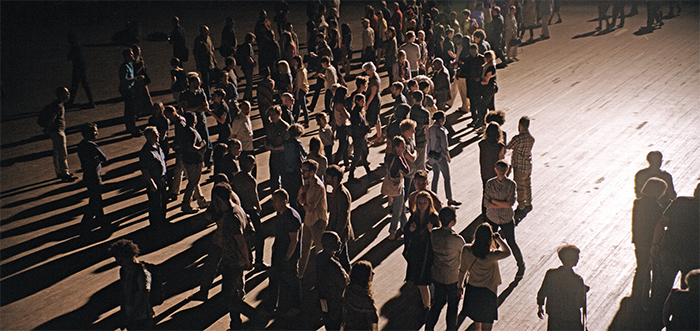 Philippe Parreno, Crowd (work in progress), 2015, 65 mm, color, sound.