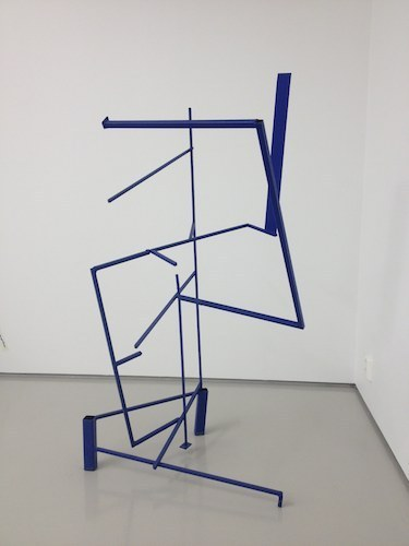 Kjell Varvin, Unstable Variable 29th April 2015, 2015, welded iron, dimensions variable.