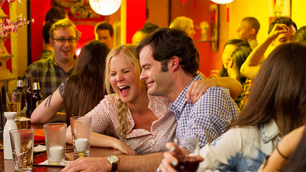 Judd Apatow, Trainwreck, 2015, 35 mm, color, sound, 125 minutes. Amy and Aaron Conners (Amy Schumer and Bill Hader).