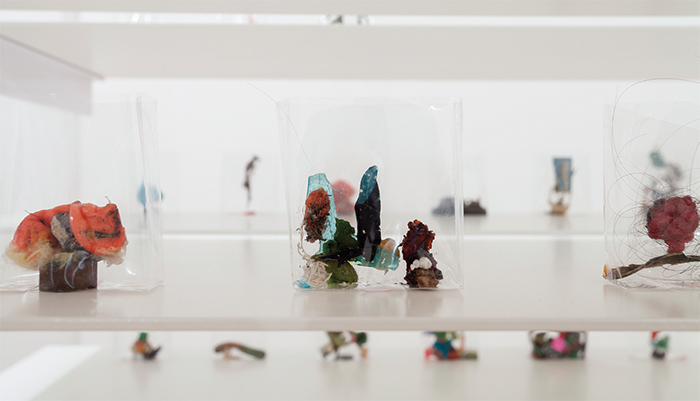 Yuji Agematsu, 01-01-2014 ~12-31-2014 (detail), 2014, mixed media, dimensions variable.