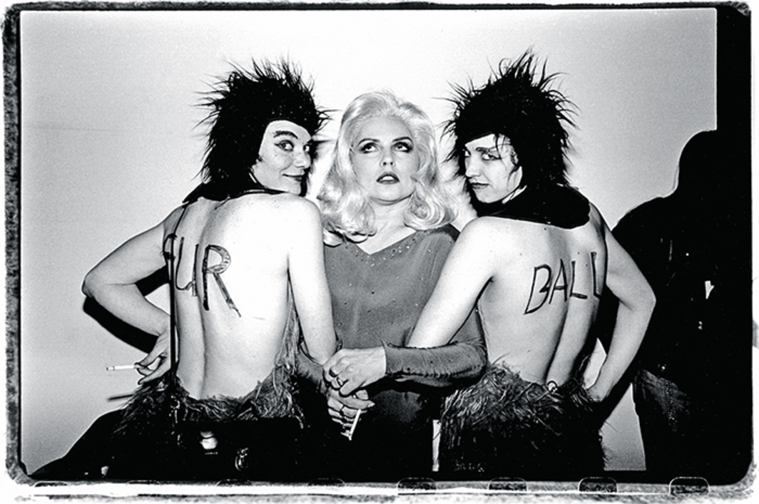 Debbie Harry at a Jackie 60 event with the Fur Balls, March 2, 1993, Mother, New York. Photo: Catherine McGann/Getty Images.