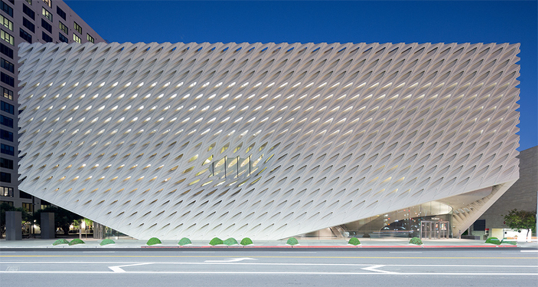 the Broad museum and urban development in Los Angeles