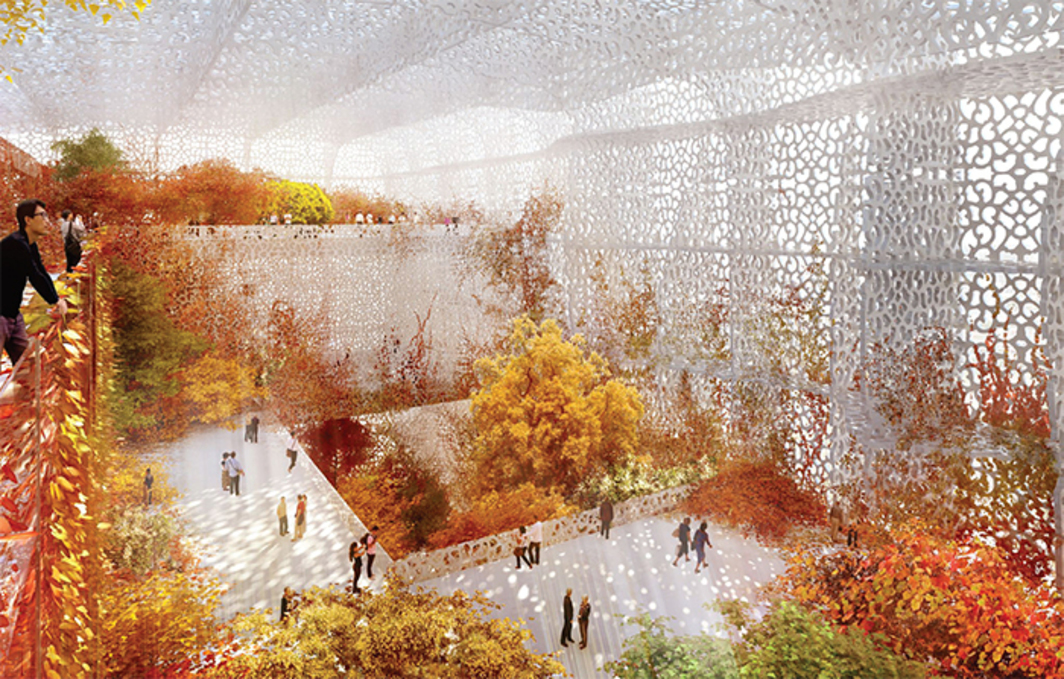 Jean Nouvel, National Art Museum of China, anticipated completion 2017, Beijing. Rendering.