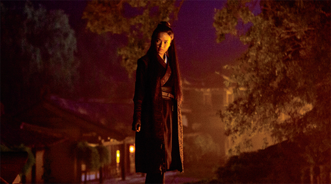 Hou Hsiao-hsien, The Assassin, 2015, 35 mm, color and black-and-white, sound, 105 minutes. Nie Yinniang (Shu Qi).