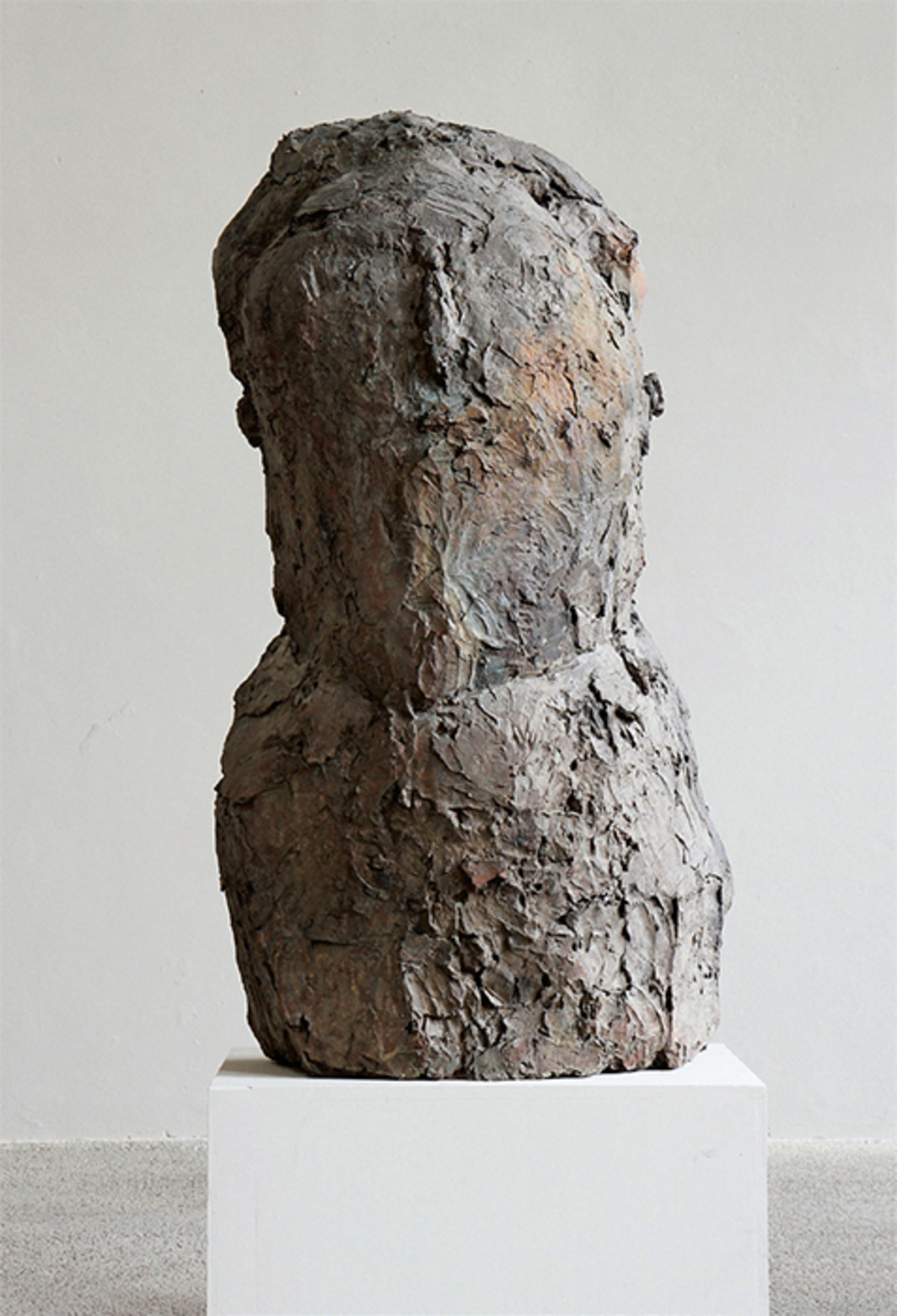 "Josephsohn, Untitled, 2002, brass, 59 1/2 × 33 1/8 × 24 3/8""."