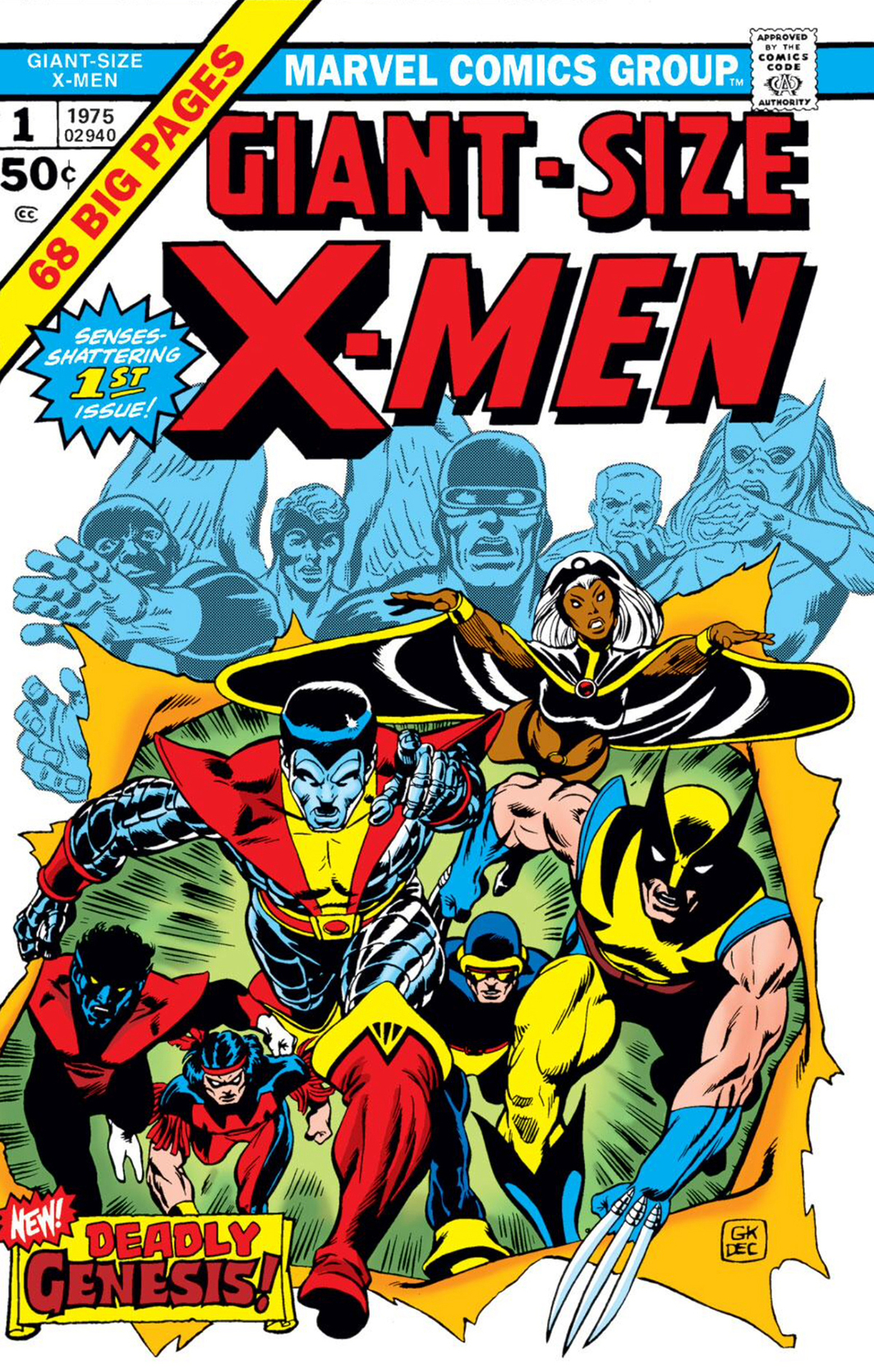 Cover of Giant-Size X-Men #1 (Marvel, 1975).