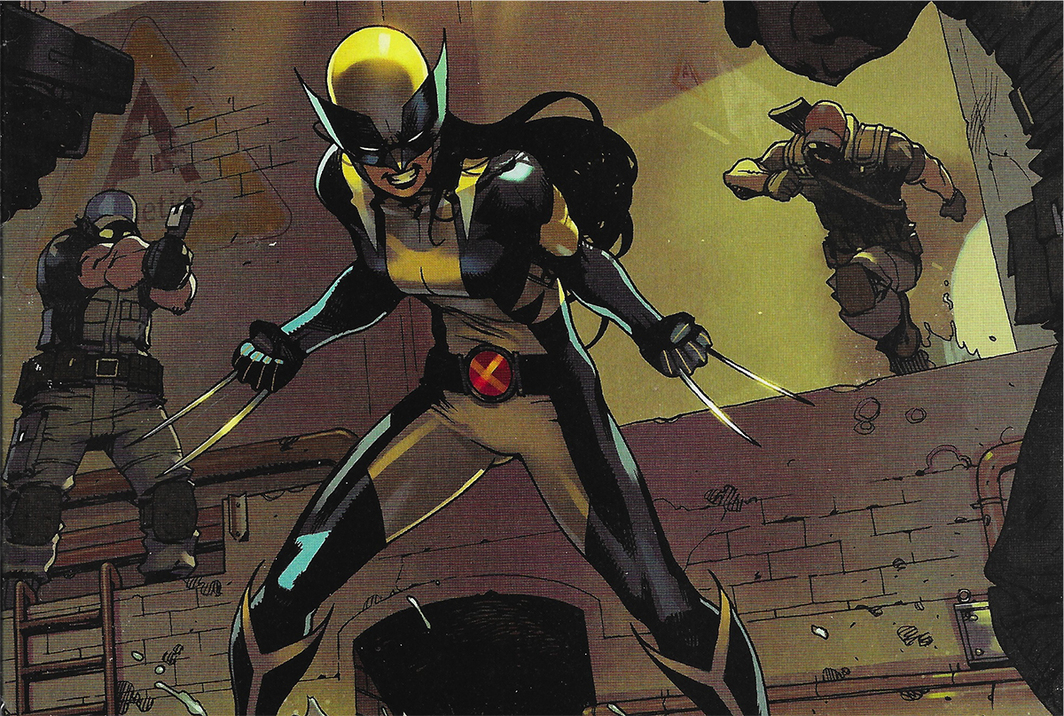 Page detail from All-New Wolverine #2 (Marvel, 2015).