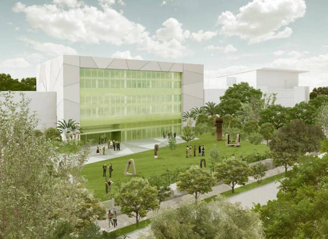 Aranguren & Gallegos's preliminary rendering of the new Institute of Contemporary Art, Miami, in the Design District. Photo: Aranguren & Gallegos.