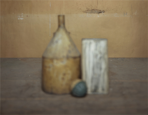 "Brigitte March Niedermair,  ""Transition _ Giorgio Morandi,"" 2012–13, C-print, 22 x 28 1/2."""