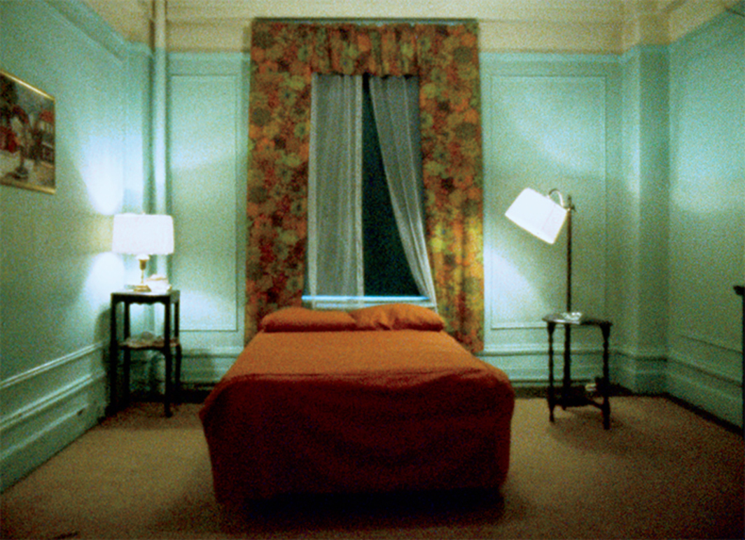 Chantal Akerman, Hotel Monterey, 1972, 16 mm, color, silent, 63 minutes.