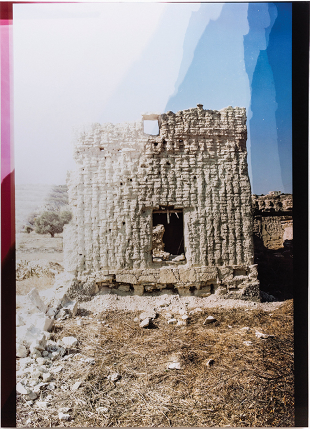 "Mustafa Hulusi, Recollections of Underdevelopment 8, 2015, ink-jet print on Dibond, 65 × 47""."