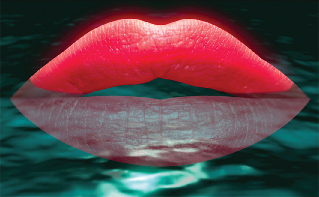 "Agnieszka Polska, I Am the Mouth II, 2014, HD video, color, sound, 5 minutes 45 seconds. From ""Suspended Animation."""