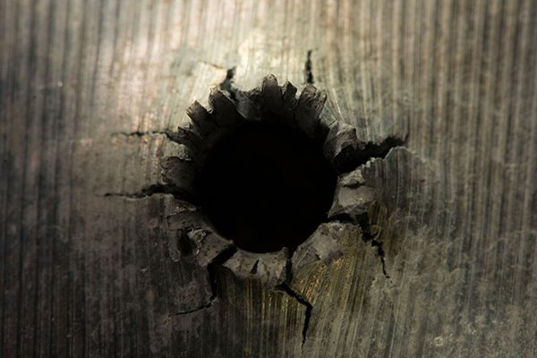 Aura Satz, Between the Bullet and the Hole, 2015, HD video, color, sound, 10 minutes 35 seconds.