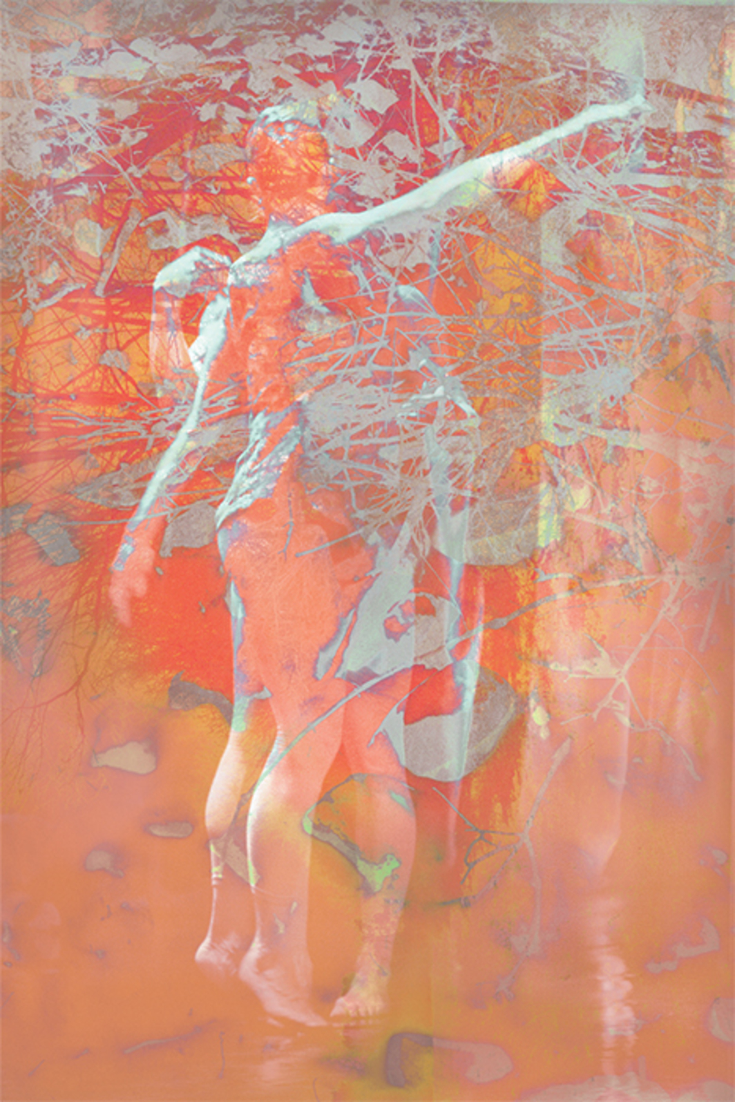 "James Welling, 4910, 2015, ink-jet print, 63 × 42""."