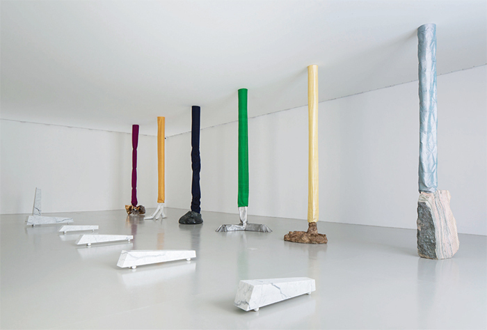"View of ""Luciano Fabro,"" 2015–16. Photo: Agostino Osio."