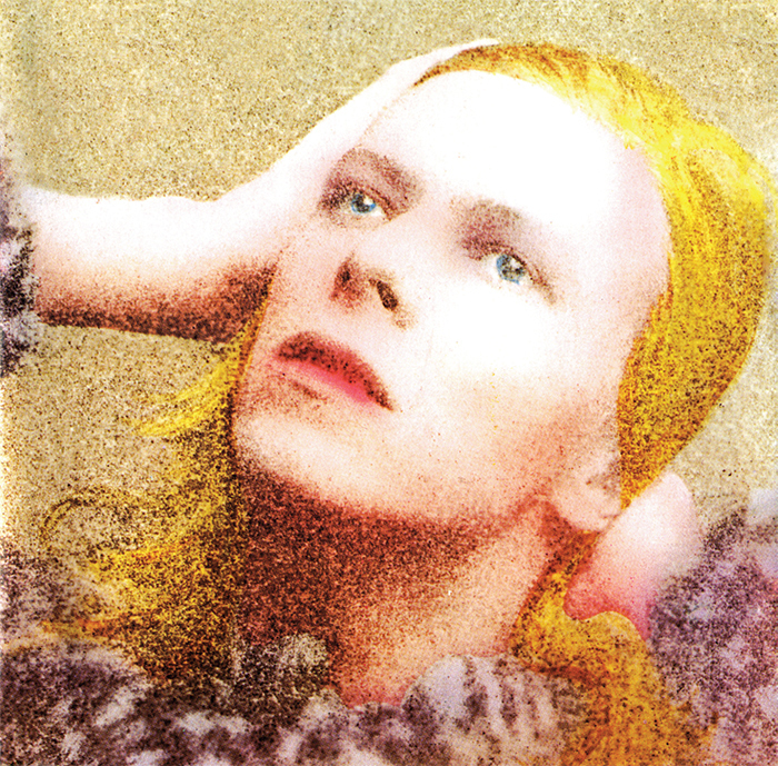 Cover of David Bowie's Hunky Dory (RCA, 1971).