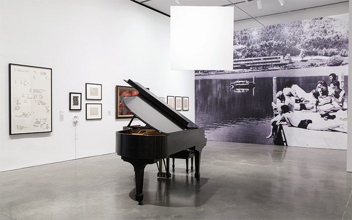 "View of ""Leap Before You Look: Black Mountain College 1933–1957,"" 2015–16. Photo: John Kennard."