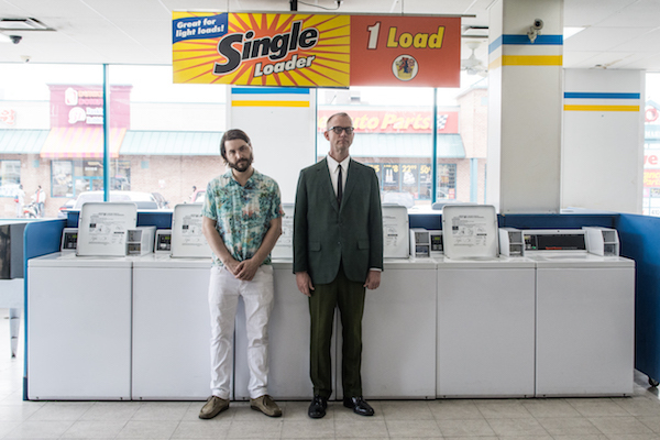 Matmos (M. C. Schmidt and Drew Daniel), 2015. Photo: Josh Sisk.