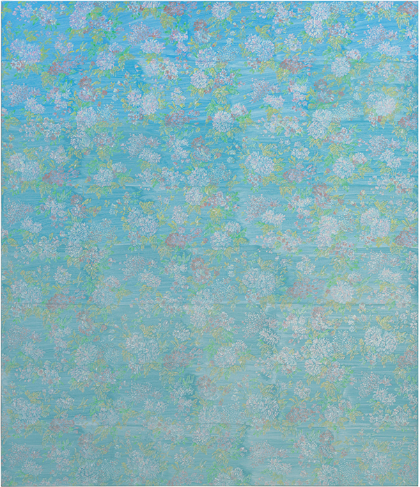 "Liang Yuanwei, 2015 No. 16, 2015, oil on linen, 55 1/4 × 47 1/4""."