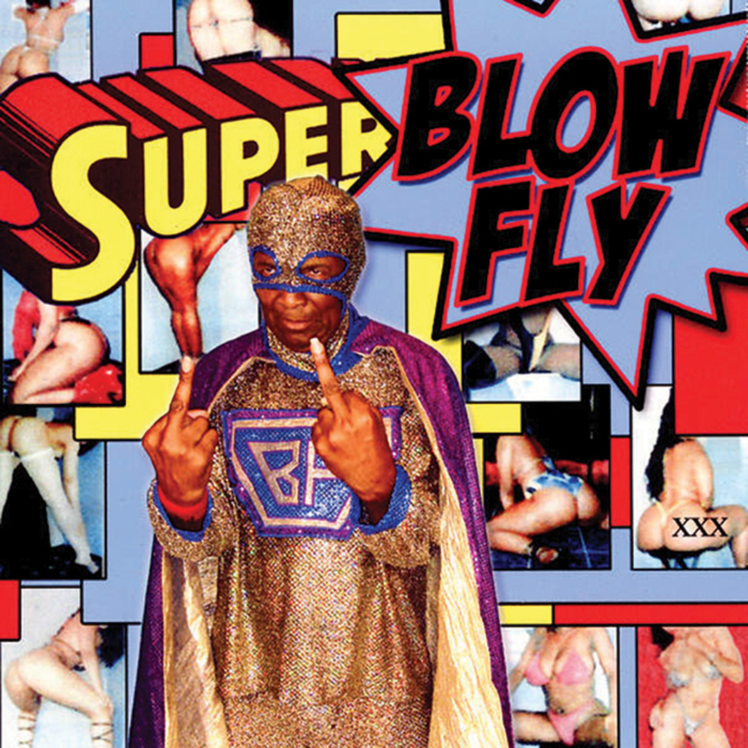 Cover of Blowfly's Superblowfly (Henry Stone Music, 2006).